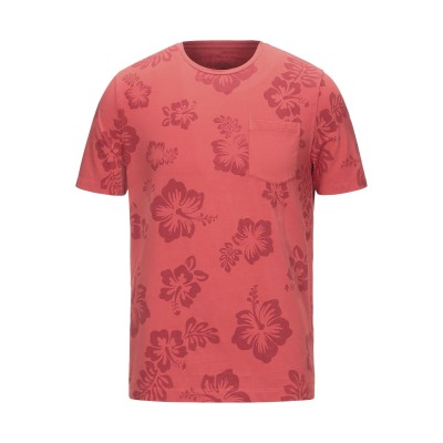 ヘリテージ HERITAGE T シャツ レッド 50 コットン 95% / ポリウレタン 5% T シャツ
