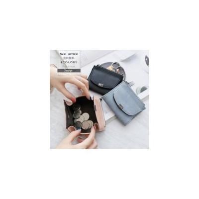 二つ折り財布 レディース ミニ財布 サイフ お札入れ 小銭入れあり シンプル コンパクト 短財布 可愛い ファッション プレゼント ギフト おしゃれ