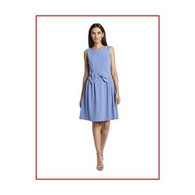 【新品】Tahari ASL Women's Sleeveless Bow-Trimmed Dress, Periwinkle, 6【並行輸入品】