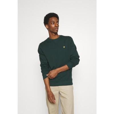 ライルアンドスコット メンズ ファッション CREW NECK - Sweatshirt - dark green