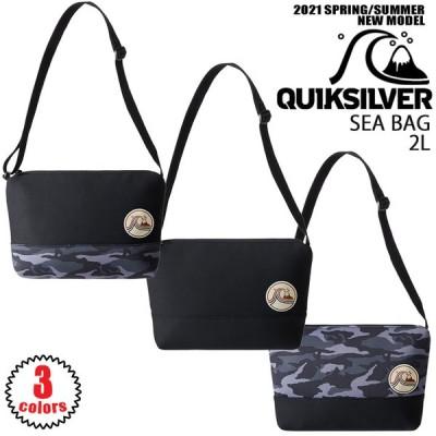 2021年1月中旬出荷 予約商品 21 QUIKSILVER クイックシルバー  SEA BAG ショルダーバッグ 2021年春夏 品番 QBG211315