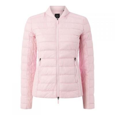 アルマーニ Armani Exchange レディース ダウン・中綿ジャケット アウター Nylon Down Jacket Pretty Pink