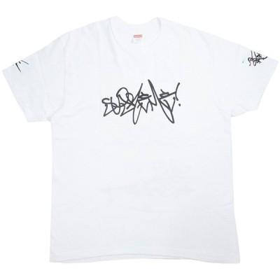 シュプリーム SUPREME 20SS Rammellzee Tag Tee Tシャツ 白 Size【L】 【中古品-良い】【中古】