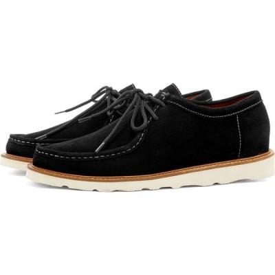 ワイルドバンチ Wild Bunch メンズ シューズ・靴 MST 11 Vibram Sole Wally Shoe Black Suede