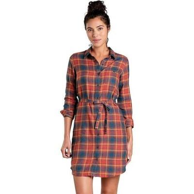 トードアンドコー レディース ワンピース トップス Toad & Co Women's Re-Form Flannel Shirt Dress