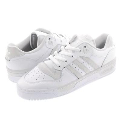 スニーカー メンズ レディース アディダス ライバルリー ロー adidas RIVALRY LOW WHITE/WHITE/GREY ee4966
