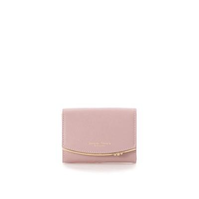 サマンサタバサプチチョイス シンプルストーン カードケース ピンク