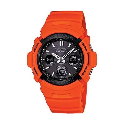 [カシオ] 腕時計 ジーショック Rescue Orange Series 世界6局対応電波ソーラー AWG-M100MR-4AJF オレンジ
