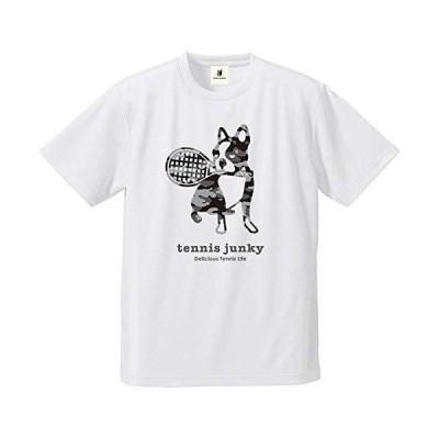 claudio pandiani(クラウディオ・パンディアーニ) Tennis Junky 迷彩テニス+3 DryTEE TJ18011 ホワイト X