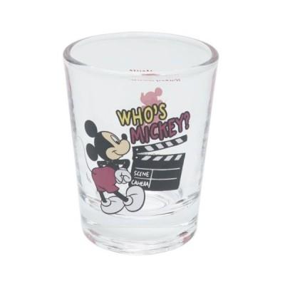 ショットグラス ミニ ガラス タンブラー ミッキーマウス HIPシリーズ ディズニー サンアート 直径5×6.3cm コレクション雑貨