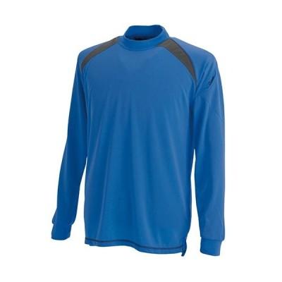 ティーエスデザイン(TS DESIGN) スマートネックシャツ 3085 41 ロイヤルブルー SS〜LL 作業服 作業着 長袖Tシャツ メンズ
