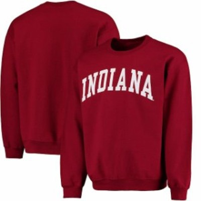 Fanatics Branded ファナティクス ブランド スポーツ用品  Fanatics Branded Indiana Hoosiers Crimson Basic Arch Sweatshirt