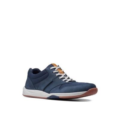 クラークス ドレスシューズ シューズ メンズ Men's Langton Race Lace-Up Shoes Navy Nubuck