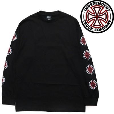 INDEPENDENT  ロンT 黒 DIAMOND CUT BLACK インディペンデント 長袖 Tシャツ
