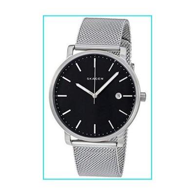Skagen Men's Hagen Three Hand Date Silver Stainless Steel Watch SKW6314【並行輸入品】