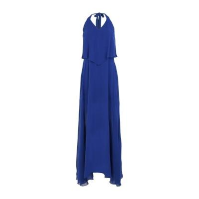 ピンコ PINKO ロングワンピース&ドレス ダークブルー 46 レーヨン 100% ロングワンピース&ドレス