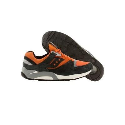 スニーカー メンズ サッカニー Saucony Men Grid 9000 - Autumn Pack (gray / orange) S70134-7