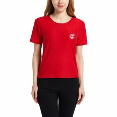 コンセプト スポーツ Concepts Sport レディース Tシャツ トップス New York Red Bulls Zest Red Short Sleeve Top