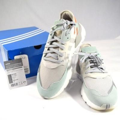 adidas / アディダス ◆Originals NITE JOGGER/スニーカー/ホワイト/27cm BD7956 メンズファッション【メンズ/MEN】 【中古】