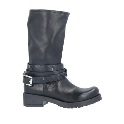 NILA & NILA ブーツ ブラック 41 牛革(カーフ) ブーツ