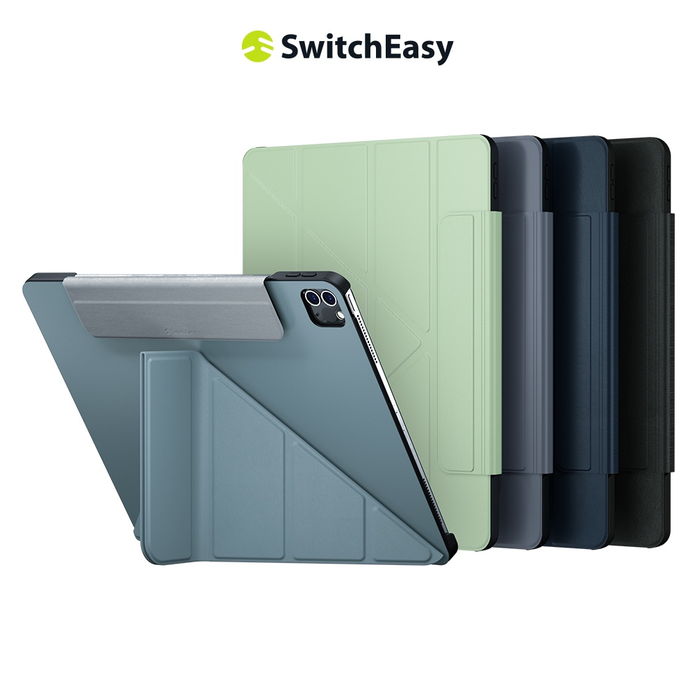 SwitchEasy 美國魚骨 2021 Origami iPad Pro 多角度支架折疊式保護套 11吋 12.9吋