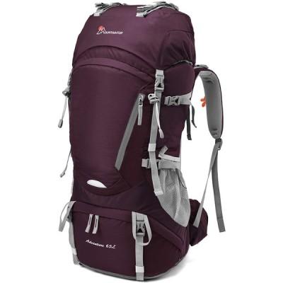 Mountaintop 55L/65L 登山バッグ 大容量 ザック 登山 リュック 防水 ハイキング バックパック キャンプ 防災 旅行用 リュックサ