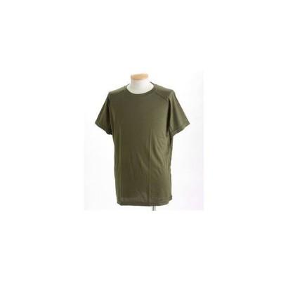 ds-389171 J. S.D.F.(自衛隊)採用吸汗速乾半袖 Tシャツ2枚 SET L オリーブ (ds389171)