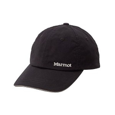 【セール】 マーモット トレッキング アウトドア 帽子 メンズ キャップ BASEBALL CAP TOANJC38 BK ONE BK