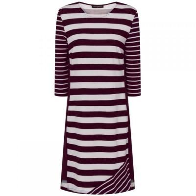 ホットスカッシュ HotSquash レディース ワンピース ワンピース・ドレス Striped York Dress in CoolFresh Fabric Multi-Coloured