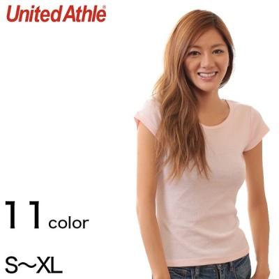 レディース 6.2オンス CVCフライスTシャツ S〜XL (United Athle レディース アウター シャツ カラー) (取寄せ)