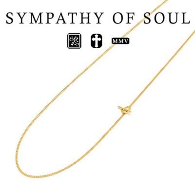 シンパシーオブソウル クラシックチェーン ネックレス K24イエローゴールド Classic Chain Necklace Narrow K24YG