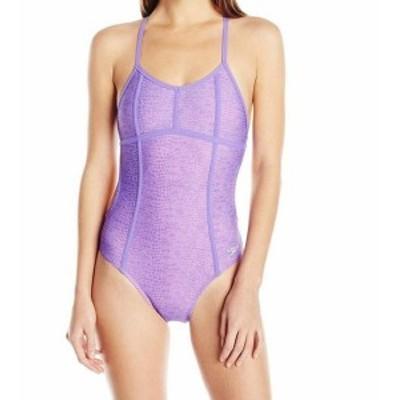 Franklin フランクリン スポーツ用品 スイミング Speedo Missy Franklin Womens Purple Size 14 Printed One-Piece Swimsuit