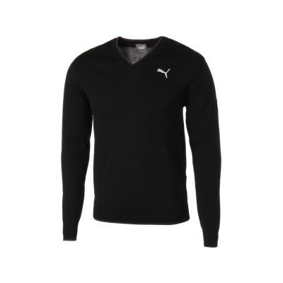 【プーマ】 ゴルフ Vネック セーター メンズ PUMABLACK S PUMA