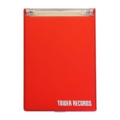タワレコ 推し活ミラー(L版写真用) Red[MD01-3977]