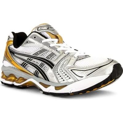 アシックス Asics メンズ スニーカー シューズ・靴 Gel-Kayano 14 White/Pure Gold