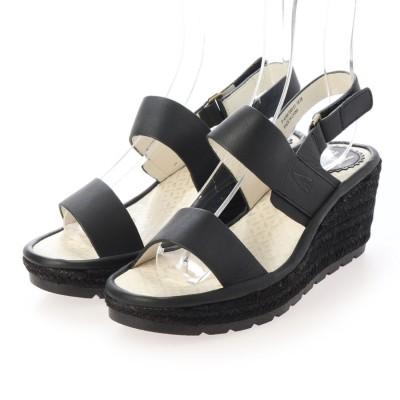 ヨーロッパコンフォートシューズ EU Comfort Shoes サンダルパンプス (ブラック)