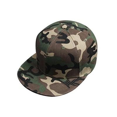 Takiloy キャップ メンズ レディース 迷彩 Hip Hop 帽子 クラシック 平ひさし帽 カモ ヒップホップ 野球帽 ゴルフ 登山 UVカット