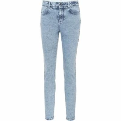 ステラ マッカートニー Stella McCartney レディース ジーンズ・デニム ボトムス・パンツ High-waisted skinny jeans Acid Blue