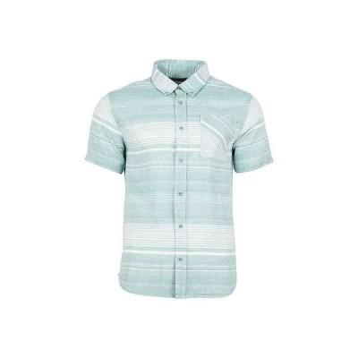 ユナイテッドバイブルー メンズ シャツ トップス United By Blue Men's Ridgerunner SS Stripe Button Down Shirt