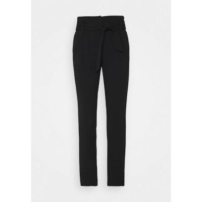 オンリー トール カジュアルパンツ レディース ボトムス ONLCAROLINA BELT PANTS - Trousers - black