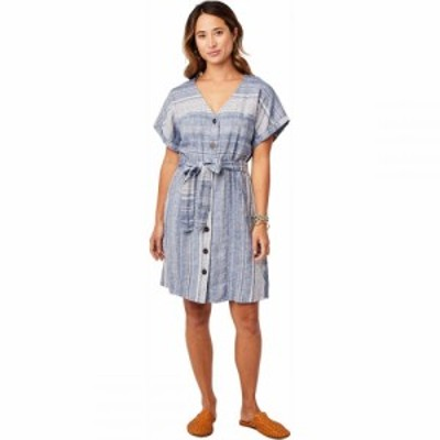 カーヴデザイン Carve Designs レディース ワンピース ワンピース・ドレス Willow Dress Coastal Stripe