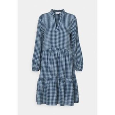 サントロペ レディース ワンピース トップス ELSYSZ DRESS - Day dress - celestial blue celestial blue