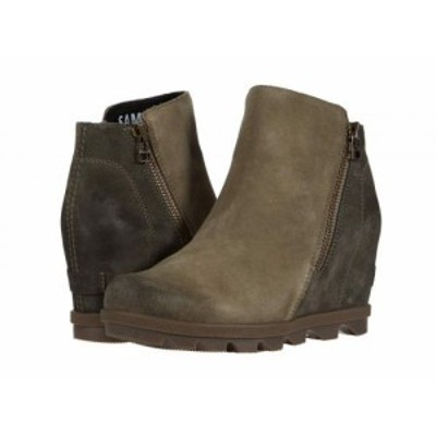 SOREL ソレル レディース 女性用 シューズ 靴 ブーツ アンクル ショートブーツ Joan of Arctic(TM) Wedge II Zip Sage【送料無料】