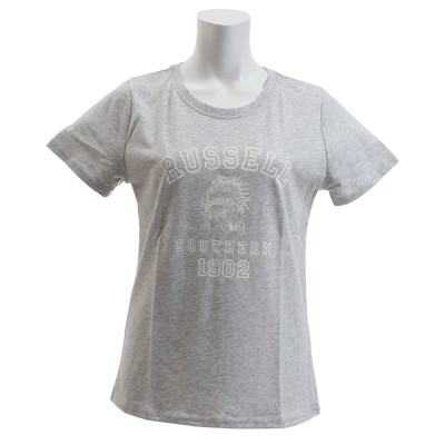 RUSSELLウェアTシャツ 半袖 NB INDIAN RBL18S1002MGRYミディアムグレー