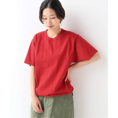 レディース ジャーナルスタンダード レリューム 【LA APPAREL / ロサンゼルスアパレル】8.5oz ShortSleeve Binding GDT:Tシャツ レッド XL