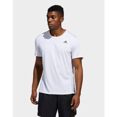 アディダス adidas メンズ Tシャツ トップス run it t-shirt white