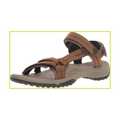 Teva Women's Terra FI LITE Leather Sandal, Brown, 6 Medium US【並行輸入品】