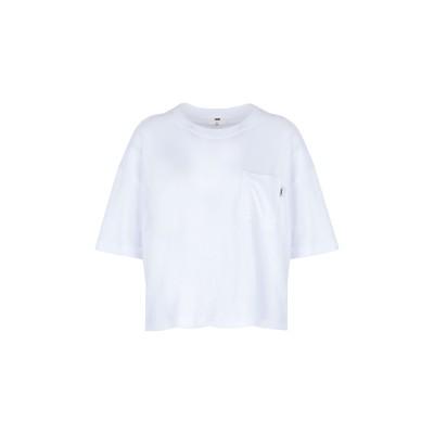 ヴァンズ VANS T シャツ ホワイト S コットン 100% T シャツ