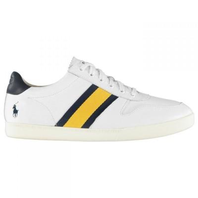 ラルフ ローレン Polo Ralph Lauren メンズ スニーカー シューズ・靴 Camilo Leather Traers White