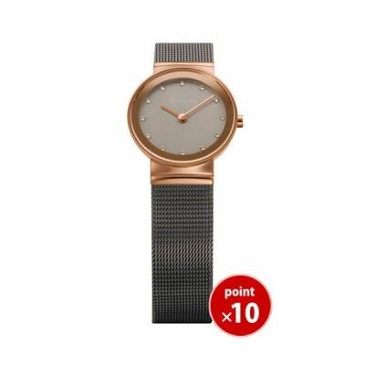 ベーリング BERING レディース 腕時計 10126-369 クラシックカービングメッシュ スワロフスキー SSメッシュベルト